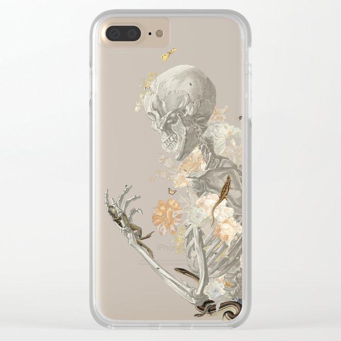 Stranger Danger I [sans type] Clear iPhone Case