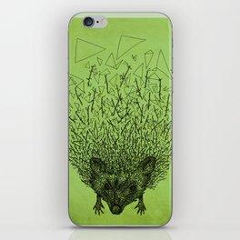 Thorny hedgehog iPhone Skin