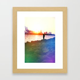 Our Rainbow Framed Art Print