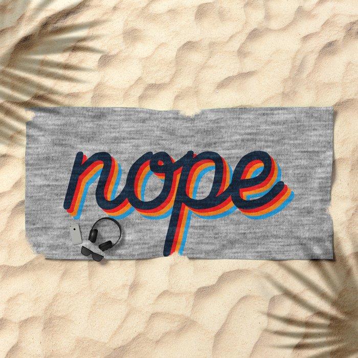 Nope Beach Towel