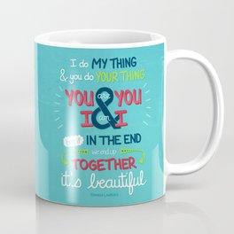 It's Beautiful Coffee Mug