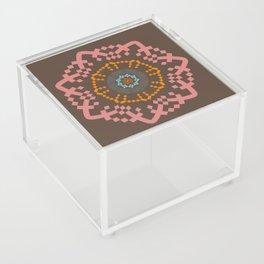 Aztec Mandala Acrylic Box