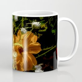 Bashful Floral Coffee Mug