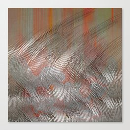 Silver lines Canvas Print