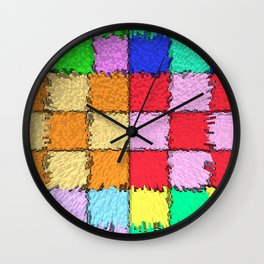 Chromatic Metropolis Wall Clock