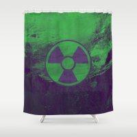 hulk Shower Curtains featuring Hulk by Some_Designs