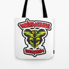 Wolfmouse at the Sherman Oaks Arena Tote Bag