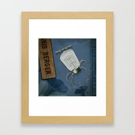 Underwater Rodeo SquidBot Framed Art Print