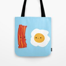 Would you be the bacon to my eggs? Tote Bag