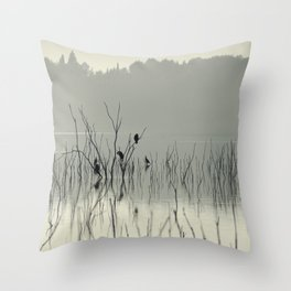 """""""Drying in the sun"""" Throw Pillow"""