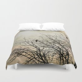 Three Birds Duvet Cover