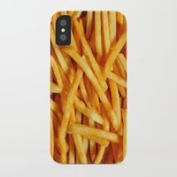 fries iPhone & iPod Cases featuring fries. by Modern Wolf