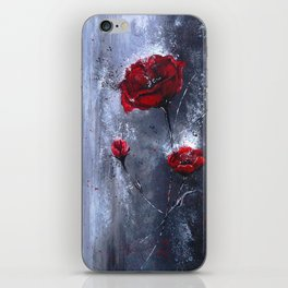 Poppy iPhone Skin