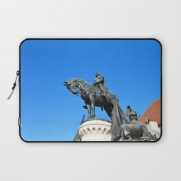 cluj napoca statue Laptop Sleeve