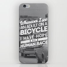 Hope For The Human Race iPhone & iPod Skin