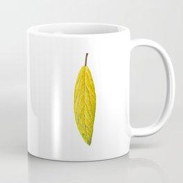 Autumn yellow leave 01 Coffee Mug