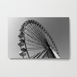 Big Wheel Metal Print