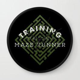 Training: Maze Runner Wall Clock