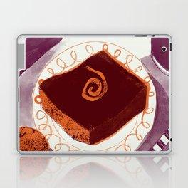 Let Them Eat Cake - Chocolate Orange Brownie Laptop & iPad Skin