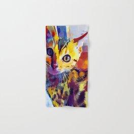 Bengal Cat Hand & Bath Towel