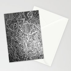 Silver Vivid  Stationery Cards