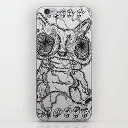 smelly hamster iPhone Skin