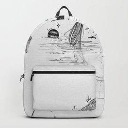 Deeper than silence.  Backpack