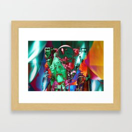 Cosmonaut color Framed Art Print