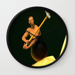 Getting Over It Wall Clock