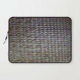 Earthy reeds woven Laptop Sleeve