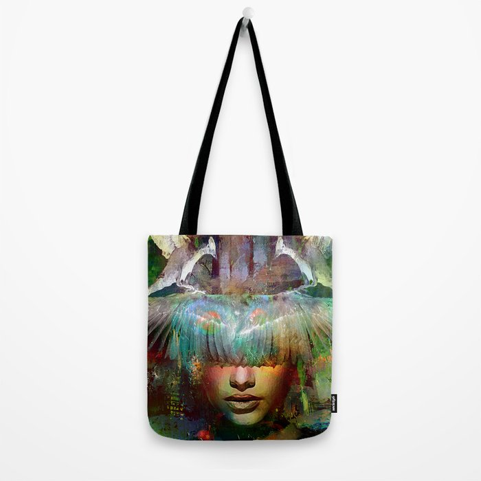 The guardian of the dusk Tote Bag