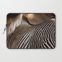 Zebra stripes Laptop Sleeve