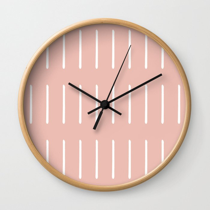 Organic (Blush) Wall Clock