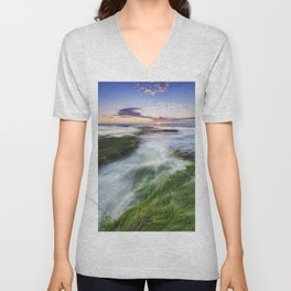 Seagrass Express Unisex V-Neck
