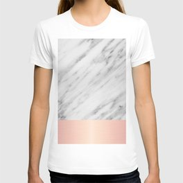 Real Italian Marble and Pink T-shirt