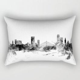Liege Belgium Skyline Rectangular Pillow
