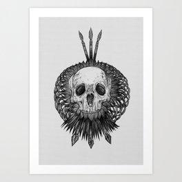 Everything with Skulls - 01 Art Print