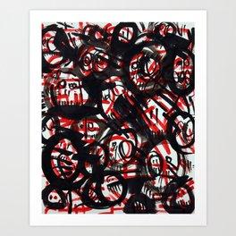 Gambling Debts Art Print