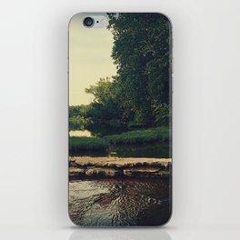 Old Creekside Mill Dam iPhone Skin