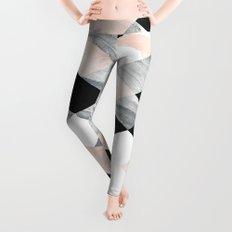 Pastel Scheme Geometry Leggings