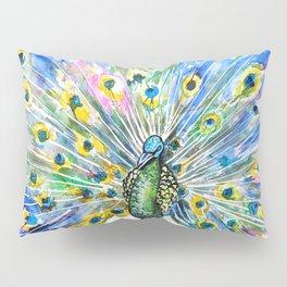 Proud Peacock Pillow Sham