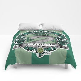 Slytherin Color Comforters