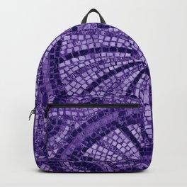 Ultra Violet Stone Tiles 18-3838 Backpack