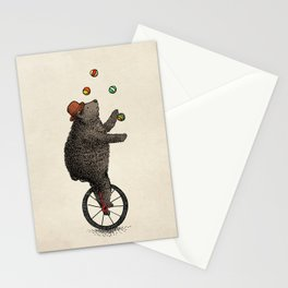 The Juggler (color option) Stationery Cards