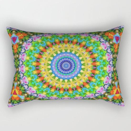 Festival des fleurs Rectangular Pillow