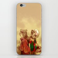 gravity falls iPhone & iPod Skins featuring Gravity Falls by frigates