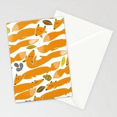 Kitsune Stationery Cards