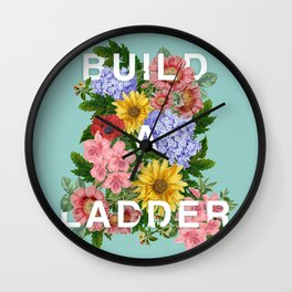 #BuildALadder Wall Clock