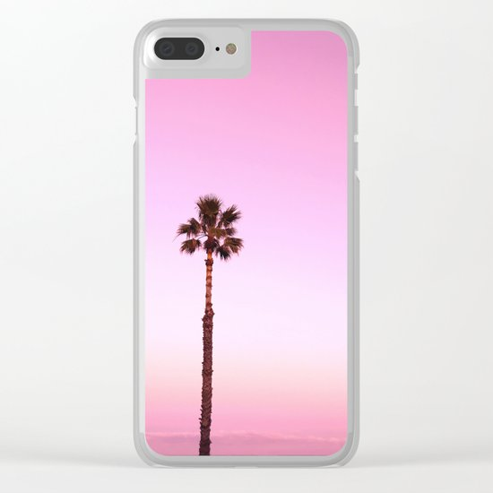 Stand out - twilight pink Clear iPhone Case