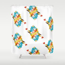 Self love queen Shower Curtain